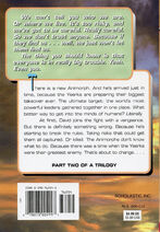Animorphs 21 the threat back cover