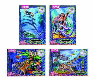 4228 B Animorphs All Four Jigsaw Puzzles Catalog Promo Image