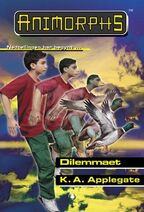 Animorphs 51 the absolute Dilemmaet Norwegian cover