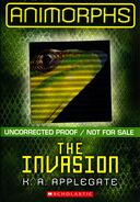 The invasion 2011 uncorrected proof front cover