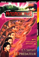 Animorphs 5 the predator le predateur french cover folio junior