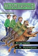 Animorphs 26 the attack Angrepet Norwegian cover