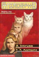 Animorphs 2 the visitor A intrusa portuguese cover Bertrand Editora