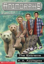 Animorphs 25 the extreme front cover scan