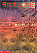 Animorphs megamorphs 2 au temps des dinosaures french canadian cover