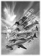 Animorphs the escape book 15 cover david mattingly original sketch