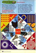 Disney Adventures Sept 1999 cootie catcher book 31