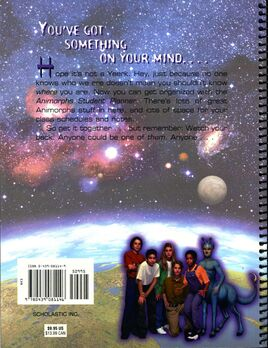 Student planner back cover