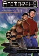 Animorphs 20 the discovery Löytö Finnish cover