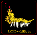 Taxxon from hawk rescue game