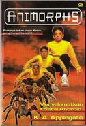 Animorphs book 10 indonesian cover