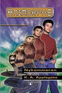 Animorphs 20 the discovery Nykommeren Norwegian cover