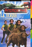 Animorphs book 39 The Hidden La Traque French cover