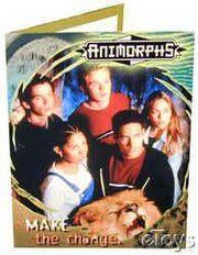 Animorphs school folder 7 make the change tv show