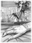 Animorphs decision book 18 original sketch david mattingly