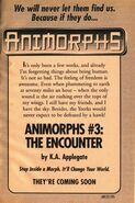 Book 3 the encounter ad from inside book 1 (and 2)