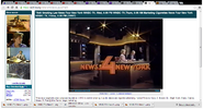 WNBC-TV's News 4 New York At 6 Video Open From Friday Evening, September 12, 1986