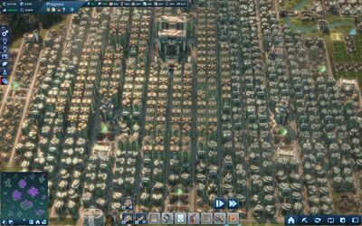 Large tycoon City