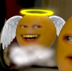 Angel orange