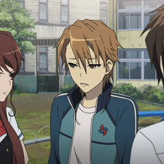 Naoya with Izumi and Kouichi.