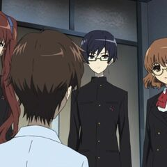 The visit to Kouichi's hospital room.