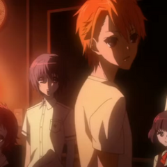Aki and the others in Kouichi's dream.