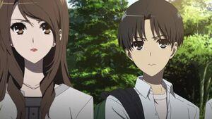 Mikami-Sensei & Manabu