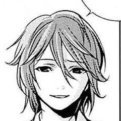 Teshigawara's appearance in the manga.