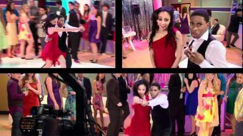 Behind the Scenes with Vanessa Morgan - A.N.T