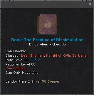 Book the practice of dissimulation