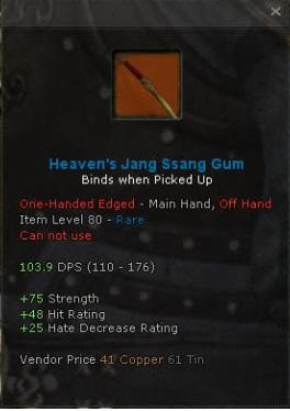 Heavens Jang Ssang Gum