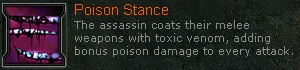 Poisonstance