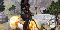 Hyrkanian Resplendent Sun-Strider