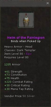 Helm of the painlegion