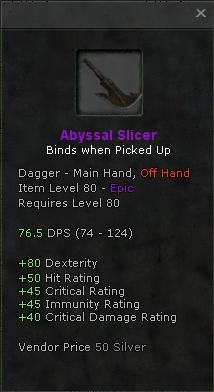 Abyssal Slicer