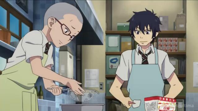 File:Konekomaru and Rin making a cake.png