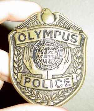 Olympus Police badge