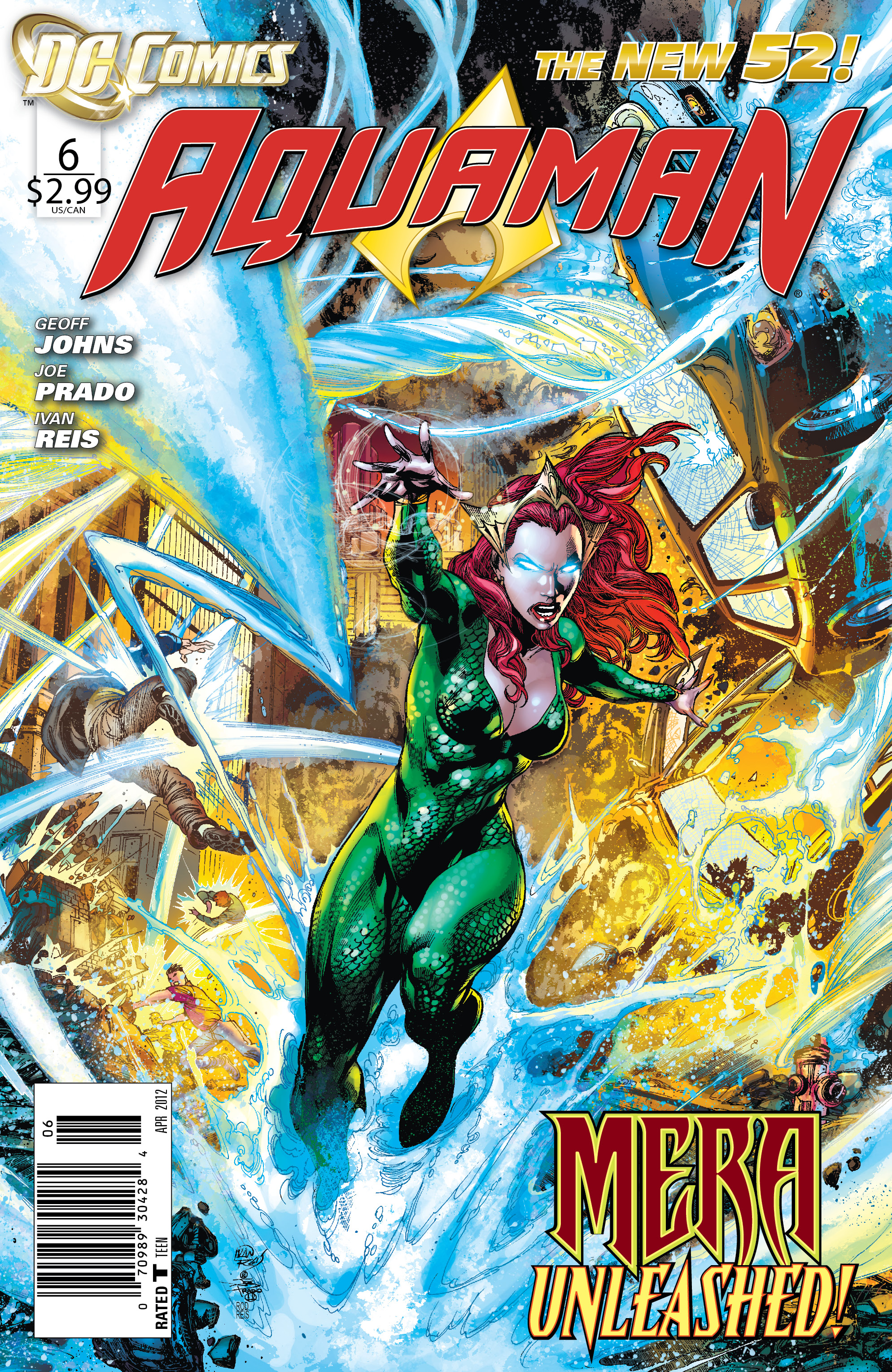 AQUAMAN VOL 1 TRENCH NEW 52 By Johns Geoff - Hardcover