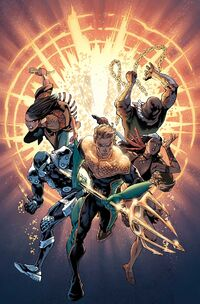Aquaman and the Others Vol 1 Futures End-1 Cover-1 Teaser
