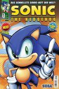 Sonic Panini Comics 1