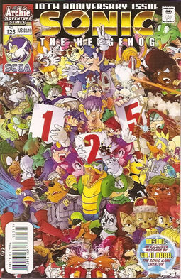 Sonic Issue 125 cover