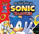 Sonic Free Comic Book Day 2016