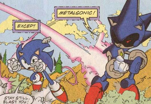 File:Metal Sonic dodging Sonic.jpg