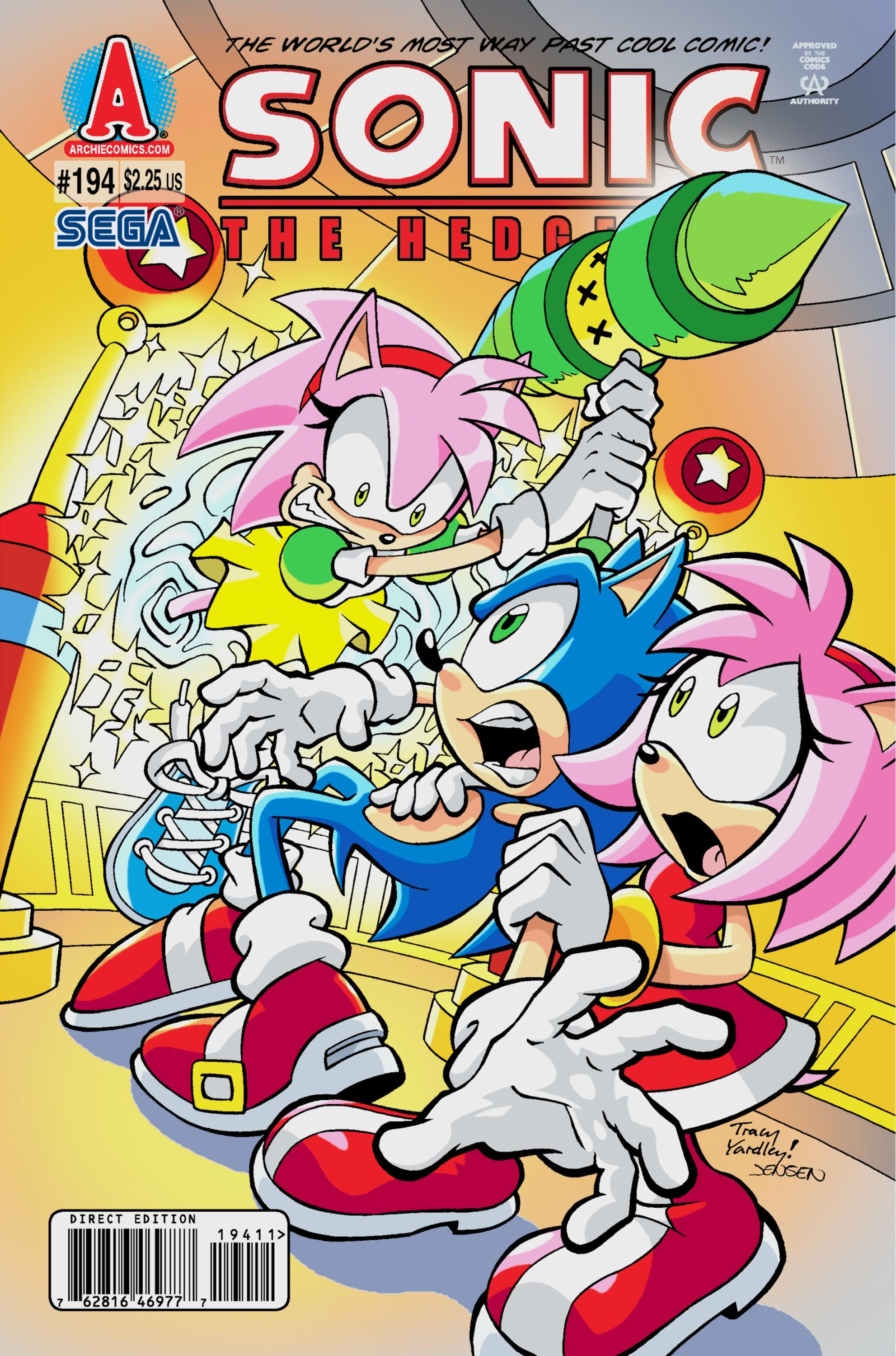 archie sonic the hedgehog issue 194
