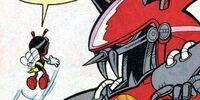 Titan Metal Sonic (Transformation)/Pre-SGW