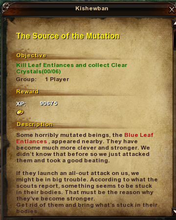 100 The Source of the Mutation