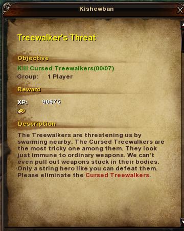 101 Treewalker's Threat