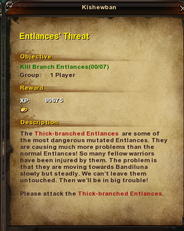 102 Entlance's Threat
