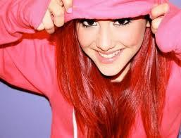 File:Ariana posing in her pink hoodie.jpeg