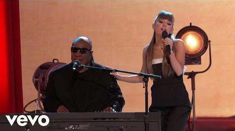 Stevie Wonder - Faith (Live On The Voice Season 11) ft. Ariana Grande